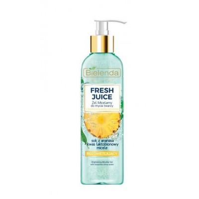 Bielenda Fresh Juice Brightening Micellar Gel Pineapple 190 g