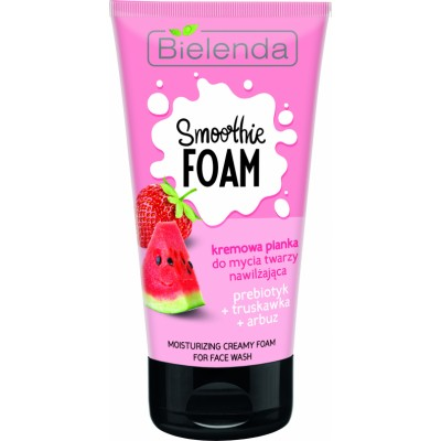 Bielenda Smoothie Foam Moisturizing Creamy Foam Strawberry & Watermelon 135 g