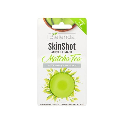 Bielenda Skin Shot Detoxifying Matcha Tea Mask 8 g