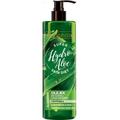 Bielenda Super Skin Diet Hydro Aloe Moisturizing Bath Oil 400 ml