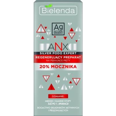 Bielenda Anx Silver Podo Regenerating Preparation For Cracked Heels 50 g