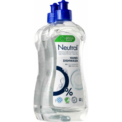 Neutral Diskmedel Flytande 2 x 500 ml