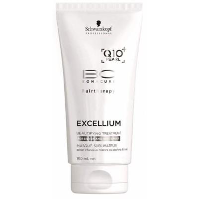 Schwarzkopf Bonacure Execellium Q10+ Beautifying Silver Hair Treatment 150 ml
