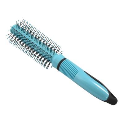 Basics Pyöreä sininen hiusharja 1 kpl