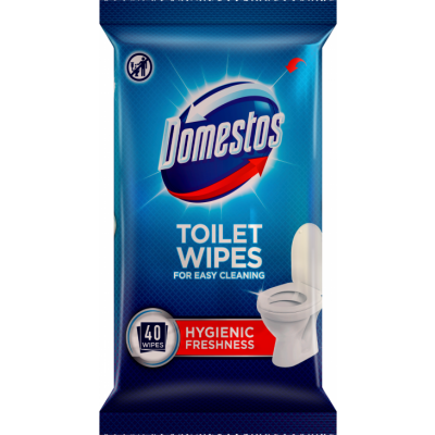 Domestos Toilet Wipes 40 pcs