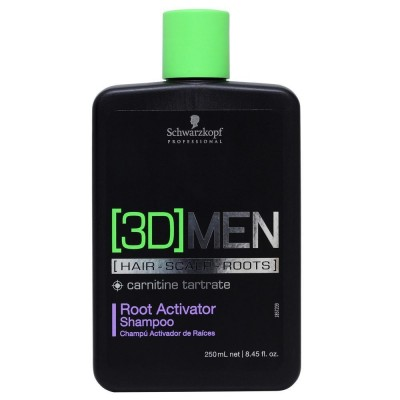 Schwarzkopf 3D Men Root Activator Shampoo 250 ml
