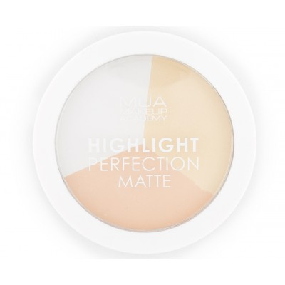 MUA Makeup Academy Highlight Perfection Matte Natural Light 15 g