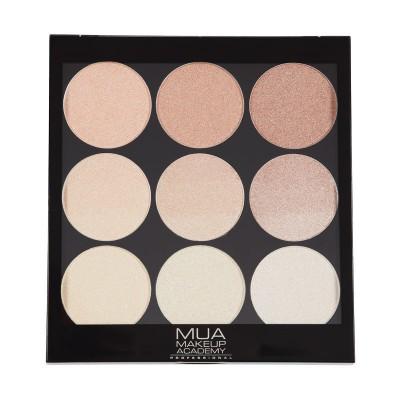 MUA Makeup Academy Gradient Light Palette Golden Glow 22,4 g