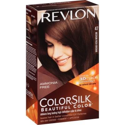 Revlon Colorsilk Permanent Haircolor 47 Medium Rich Brown 1 kpl