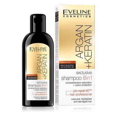 Eveline Argan & Keratin Exclusive Shampoo 150 ml