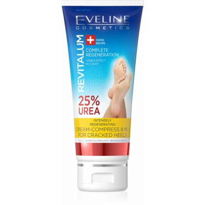 Eveline Revitalum Cracked Heels Regenerating Cream-Compress 75 ml