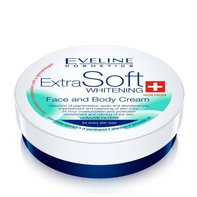 Eveline Extra Soft Whitening Face & Body Cream 200 ml