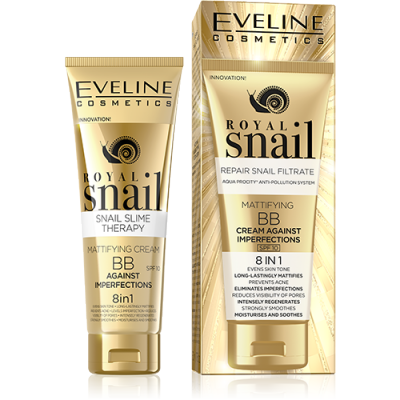 Eveline Royal Snail 8in1 Mattifying BB Cream 50 ml