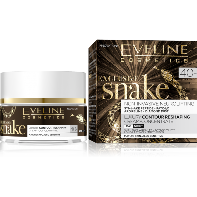 Eveline Eveline Exclusive Snake Reshaping Day & Night Cream 40+ 50 ml 50 ml