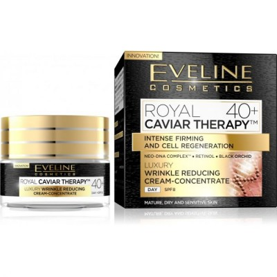 Eveline Royal Caviar Therapy Wrinkle Reducing Day Cream 40+ SPF8 50 ml