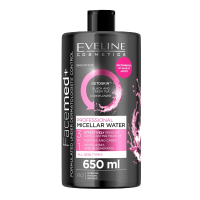 Eveline Facemed+ Professional Micellar Water 650 ml