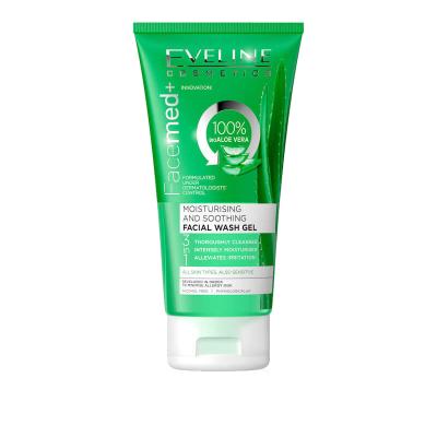 Eveline Facemed+ Moisturising Aloe Vera Face Wash Gel 150 ml