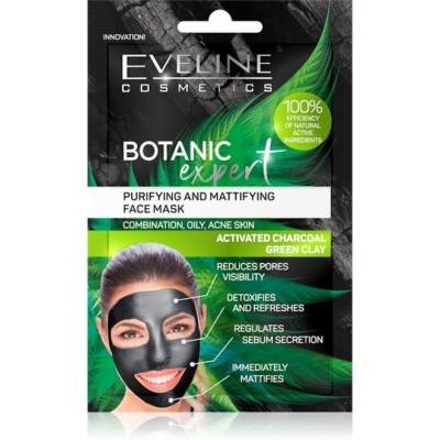 Eveline Botanic Expert Purifying Green Clay Face Mask 2 x 5 ml