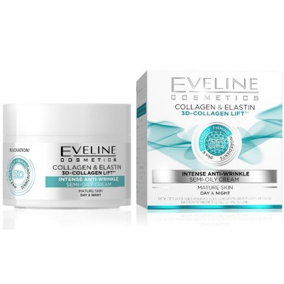Eveline 3D-Collagen Lift Intense Anti-Wrinkle Cream 50 ml