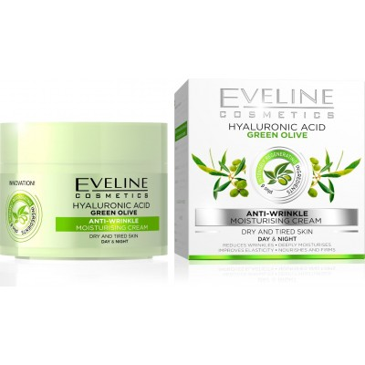 Eveline Green Olive Anti-Wrinkle Day & Night Cream 50 ml