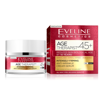 Eveline Age Therapist Firming Anti-Wrinkle Cream-Serum 45+ 50 ml