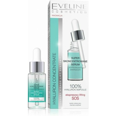 Eveline Hyaluron & Collagen Super Concentrated Serum 18 ml