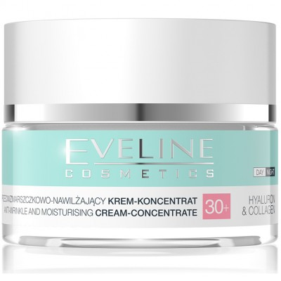 Eveline Hyaluron & Collagen Day & Night Cream 30+ 50 ml