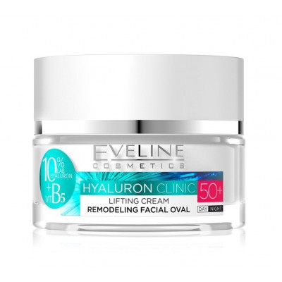 Eveline Hyaluron Clinic Filling Clinic Day & Night Cream 50+ 50 ml