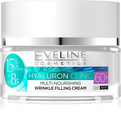 Eveline Hyaluron Clinic Nourishing Day & Night Cream 60+ 50 ml
