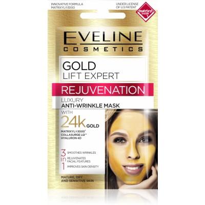 Eveline Gold Lift Expert Luxury Anti-Wrinkle Mask 7 ml