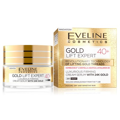 Eveline Gold Lift Expert Firming Day And Night Cream 40+ 50 ml