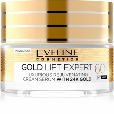 Eveline Gold Lift Expert Rejuvenating Day And Night Cream 60+ 50 ml