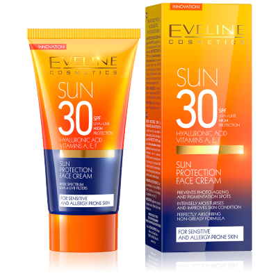 Eveline Sun Protection Face Cream SPF30 50 ml