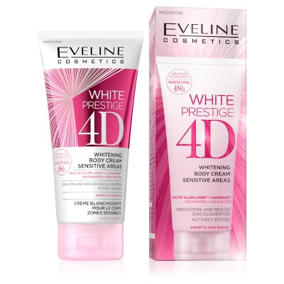 Eveline White Prestige 4D Whitening Body Cream Sensitive 100 ml