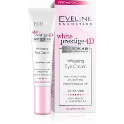 Eveline White Prestige 4D Whitening Eye Cream 20 ml