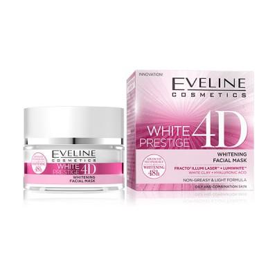 Eveline White Prestige 4D Whitening Facial Mask 50 ml