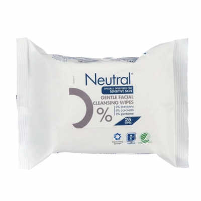 Neutral Make Up Remover Wipes 25 st