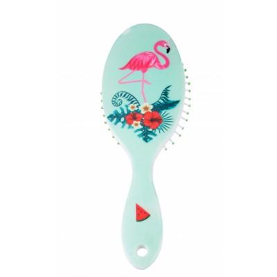 Basics Wet Brush Mint Flamingo 1 stk