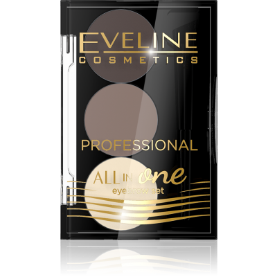 Eveline All In One Eyebrow Set No. 1 1 pcs