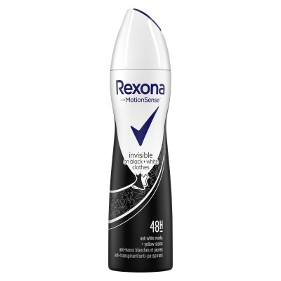 Rexona Women Invisible On Black & White Clothes Deospray 150 ml