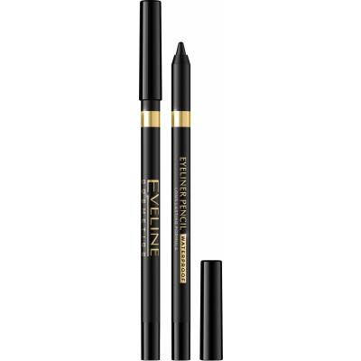 Eveline Eyeliner Pencil Waterproof Black 1 st