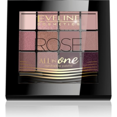 Eveline All In One Eyeshadow Palette Rose 1 stk