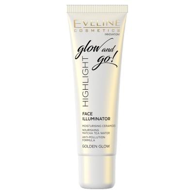 Eveline Glow & Go Highlight Illuminator Golden Glow 20 ml
