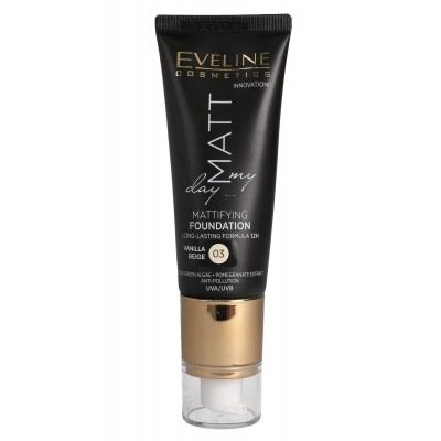Eveline Matt My Day Mattifying Foundation 03 Vanilla Beige 40 ml