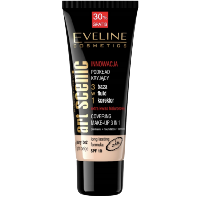 Eveline Art Scenic Covering Make-Up 3in1 Light Beige 40 ml