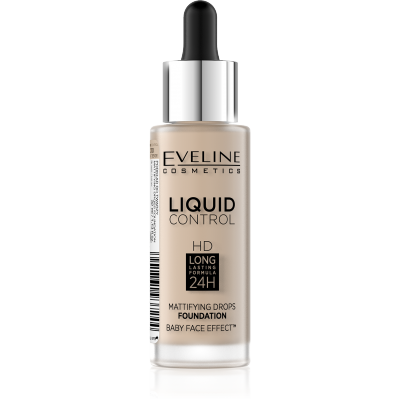 Eveline Liquid Control Foundation 010 Light Beige 32 ml