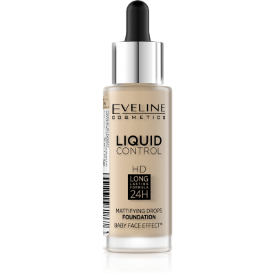 Eveline Liquid Control Foundation 015 Vanilla Beige 32 ml