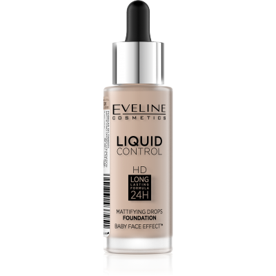 Eveline Liquid Control Foundation 020 Rose Beige 32 ml