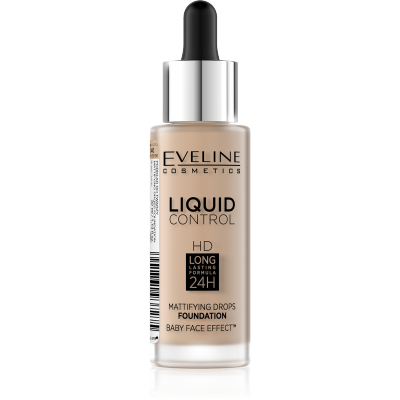 Eveline Liquid Control Foundation 040 Warm Beige 32 ml