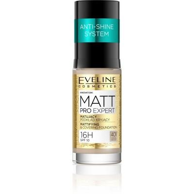 Eveline Matt Pro Expert Mattifying Foundation 401 Cool Beige 30 ml
